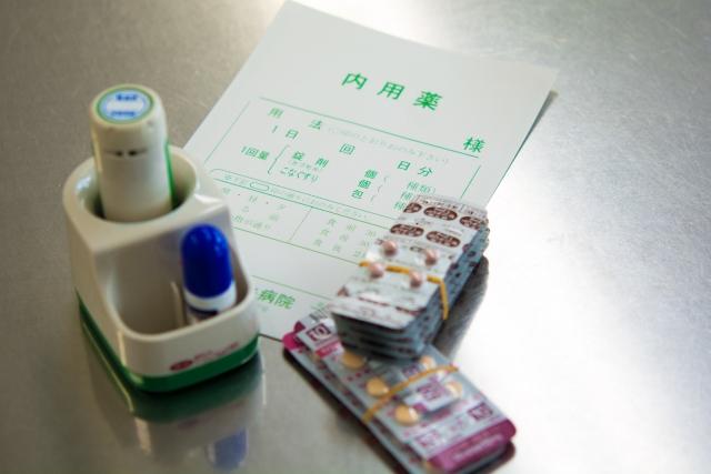 調剤印と薬